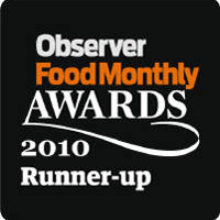 Logo of Observer Food Monthly Awards 2010