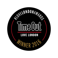 Logo for Timeout Winner 2016 Award